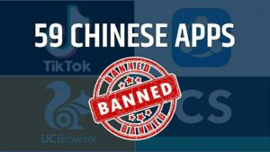 59 Chinese App Banned List