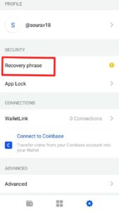Coinbase Wallet Recovary Phase