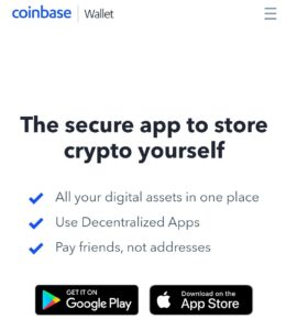 Coinbase wallet create
