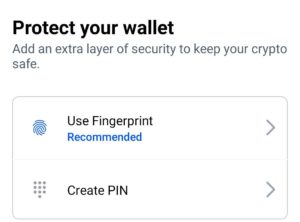 Coinbase wallet create protection