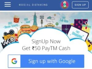 paybox sign up with Google