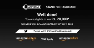 Amazon Stand For Homemade Quiz