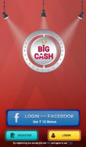 BigCash Login With Facebook