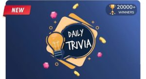 Flipkart Daily Trivia 4 September