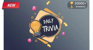 Flipkart Daily Trivia Answers 15 July