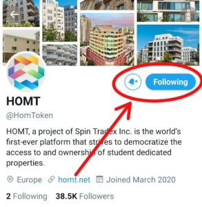 Follow HOMT On Twitter & Retweet One of There Post