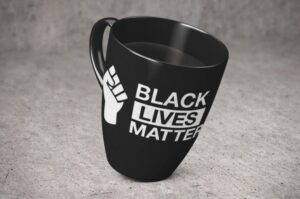 Free Black Lives Matter mug sample