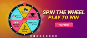 MedLife Spin The Wheel Offer