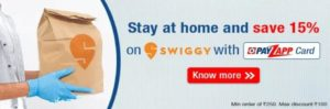 PayZapp Swiggy Offer
