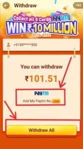 Paytm Cash From PLAYit