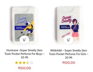 Select Any Super Smelly Pocket Perfume