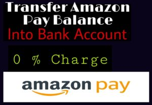 Transfer Amazon Pay Balance In To Bank Account
