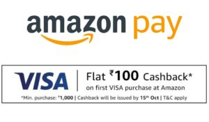 Amazon New to VISA Offer