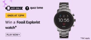 Amazon Quiz Answers 7 August 2020