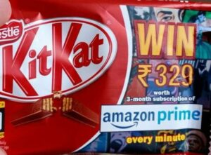 Get 3 Months Free Amazon Prime With ‎₹25 Kitkat Pack