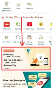 Get Up To ₹1000 Cashback On Amazon Pay