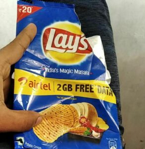 Lay's Airtel Offer