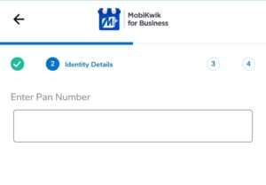 PAN Card Number On Mobikwik Merchant