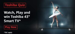 Amazon Toshiba Quiz