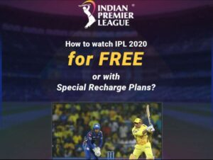Watch IPL 2020 For Free On Hotstar