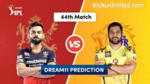 Dream11 Team Prediction BLR vs CSK