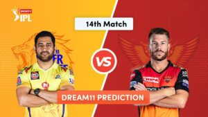 Dream11 Team Prediction CSK Vs SRH