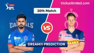 Dream11 Team Prediction DC Vs RR