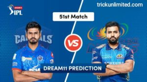 Dream11 Team Prediction DEL vs MUM