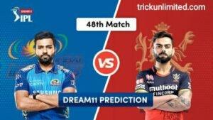 Dream11 Team Prediction MI vs RCB