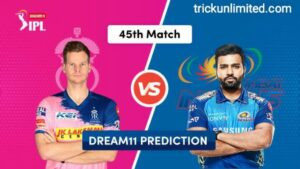 Dream11 Team Prediction RR vs MI