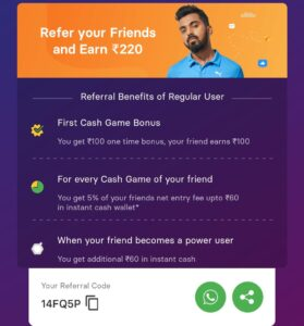 Gamezy Refer And Earn