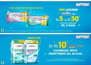 Happydent Offer
