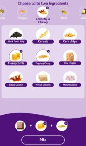 Choose 2 Ingredients Of Cadbury