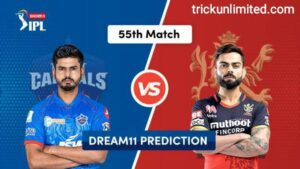 Dream11 Team Prediction DC vs RCB
