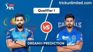 Dream11 Team Prediction MI vs DC