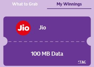Win Assured Free Jio Data as Prize