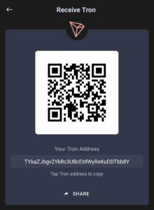 TRX Address