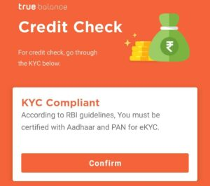 Start KYC To Get Credit Score