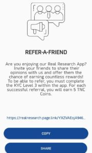 Real Research Refer & Earn