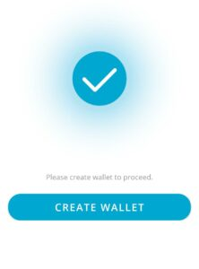 real research Create Wallet