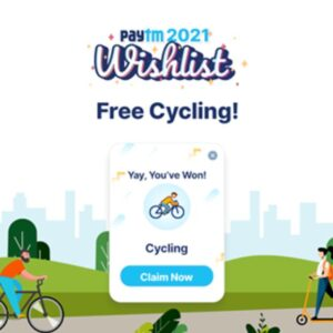 Trick To Get ' Cycling Card '