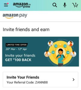 amazon pay refer and earn offer