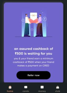 CRED Refer And Earn