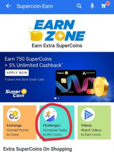 Challenges – Complete Tasks To Win Coins