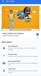 Make Lockdown Fun Challenge