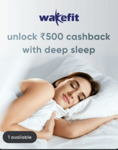 CRED WakeFit Offer