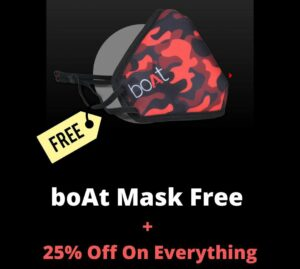 BoAt Vaccine Offer
